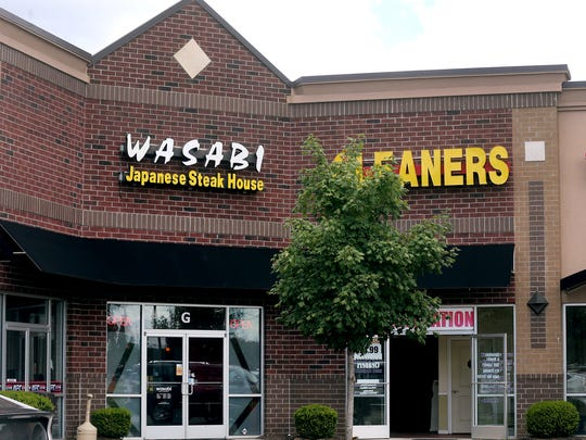 A customer was squirted in the face with a novelty toy at this Wasabi Japanese Steak House in Murfreesboro on Monday July 25, 2016 causing her to file a sexual harrassment suit.