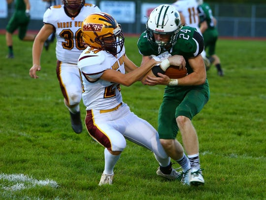 Fisher Catholic senior defensive back Logan Loy was named first team All-Ohio in Division VII.