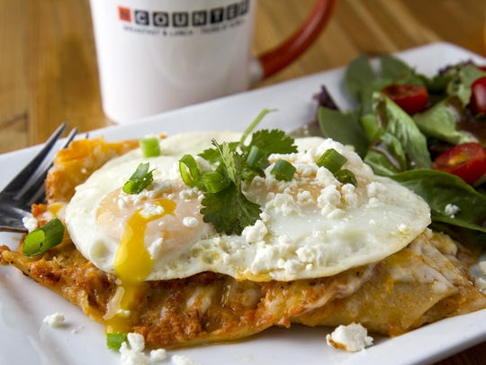 The chilaquiles at NCounter.