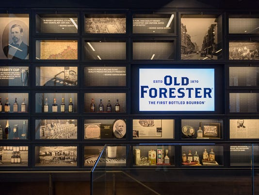 Old Forester Distilling Company on Whisky Row in Louisville