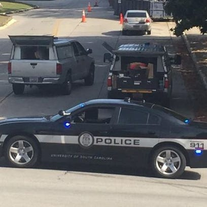 Multiple law enforcement agencies investigate the discovery