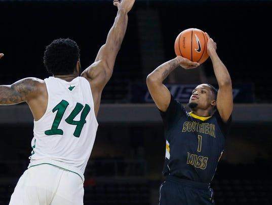 NCAA Basketball: Conference USA Tournament-Marshall vs Southern Mississippi