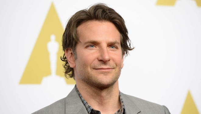 Bradley Cooper arrives for the Oscars Nominees' Luncheon hosted by the Academy of Motion Picture Arts and Sciences, February 2, 2015 at the Beverly Hilton Hotel in Beverly Hills, California.
