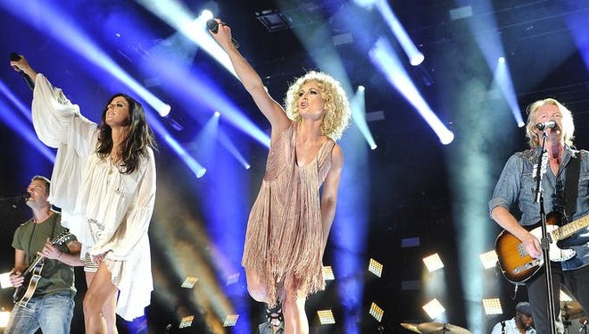 Little Big Town performs at the 2015 CMA Music Festival on Saturday, June 13.