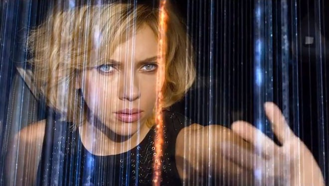 "Scarlett Johansson stars as ""Lucy,"" which opens July 25 nationwide."