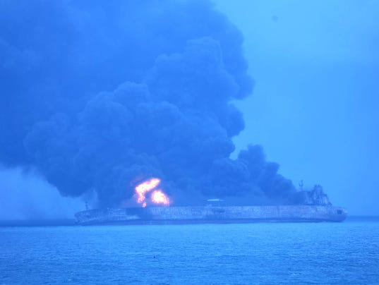 AP CHINA SEA COLLISION I XSE