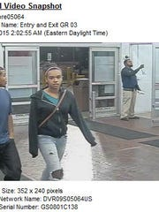 This man and woman used credit cards in Kalamazoo which