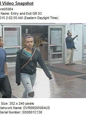 This man and woman used credit cards in Kalamazoo which were taken in a Battle Creek burglary.