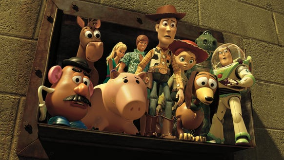 """Woody, Jessie, Buzz Lightyear and the rest of the """"Toy"""