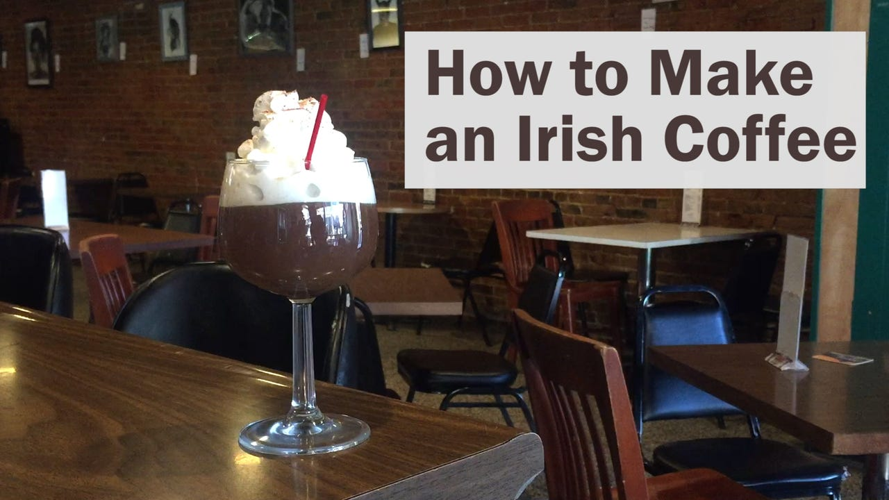 Mix it up: Irish Coffee
