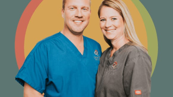 Drs. Lee and Kelly Caperton
