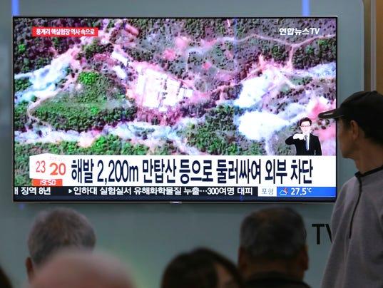 AP SOUTH KOREA NORTH KOREA NUCLEAR SITE I KOR