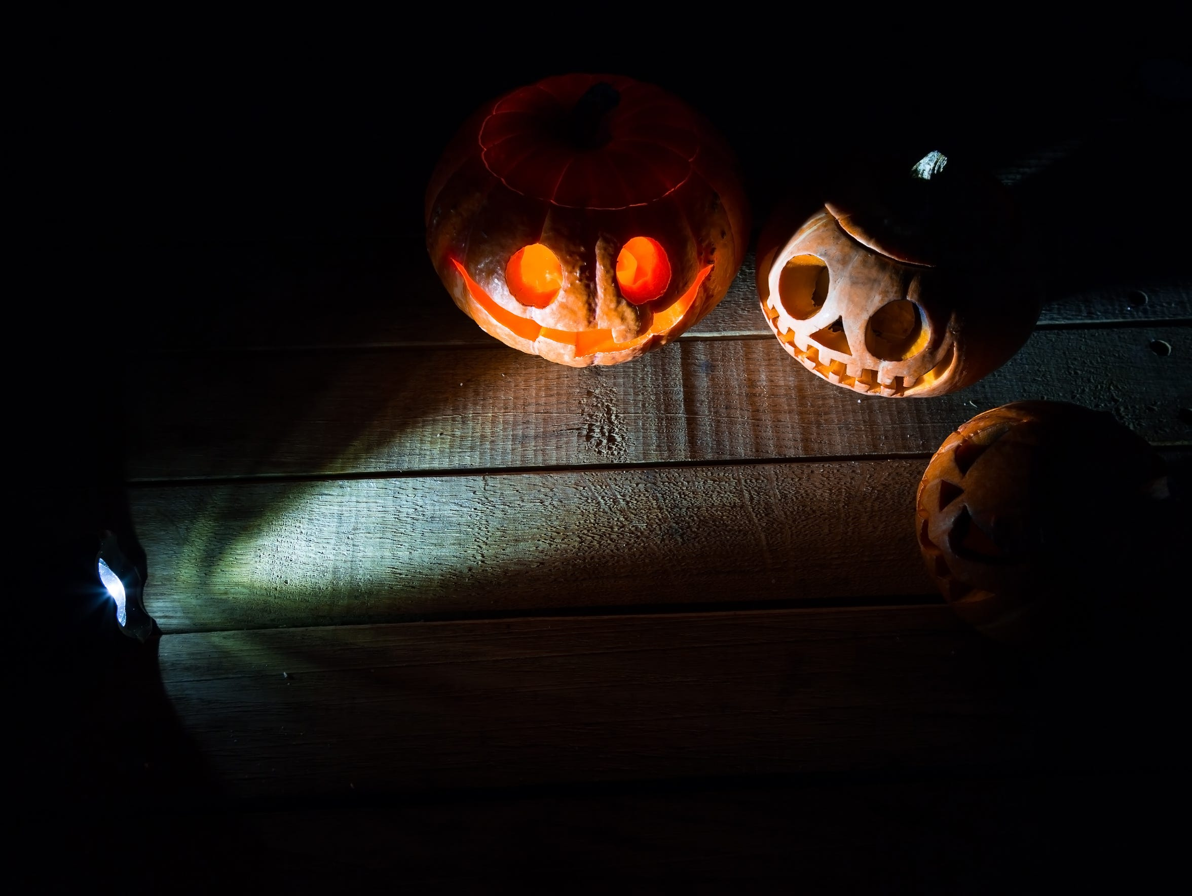 Get spooked at Sam Davis Home on a Frightful Night.