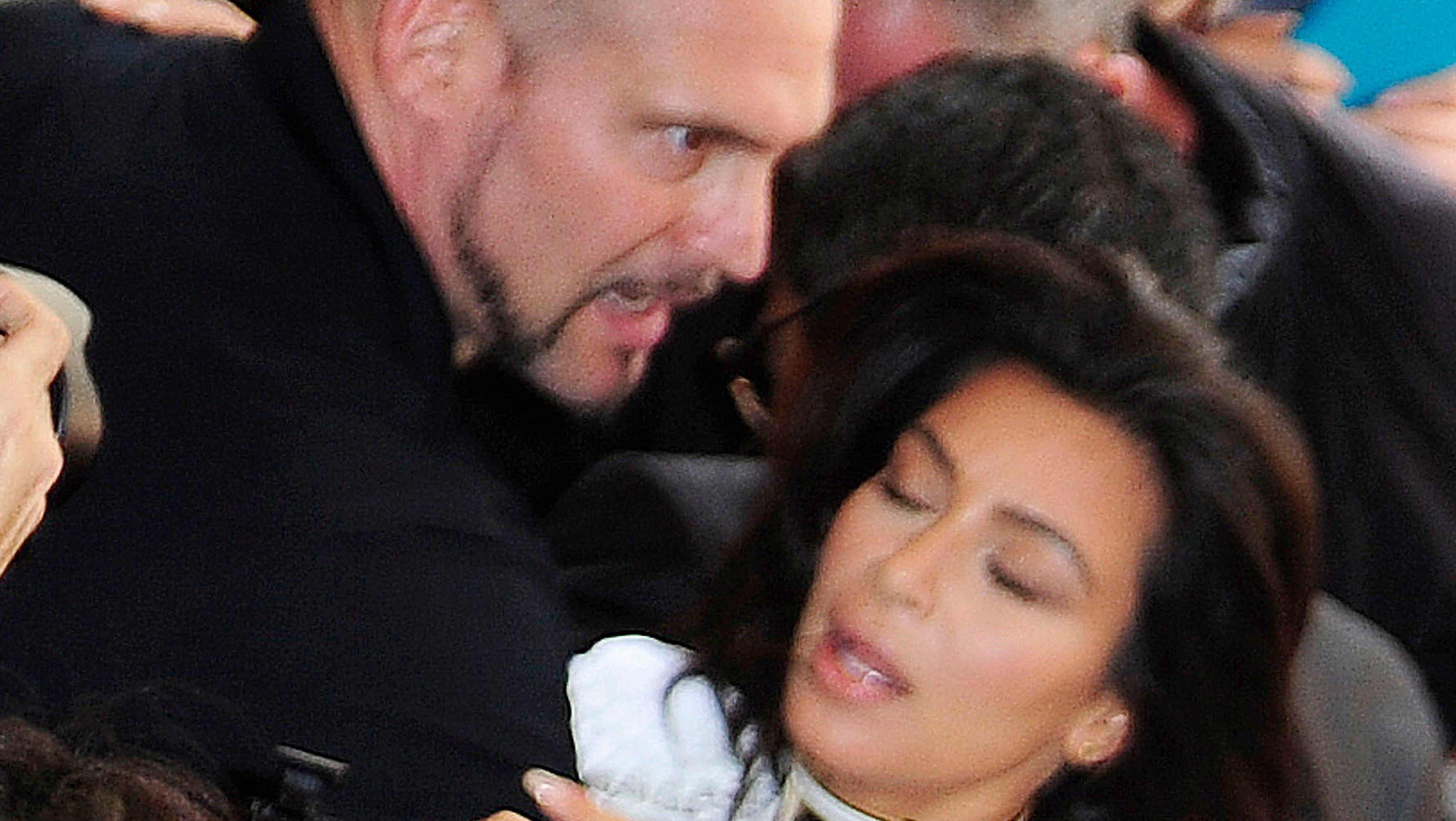 Celeb superlatives: Kim K. is tackled, Clooney weds
