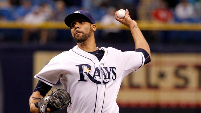 David Price was 11-8 with a 3.11 ERA this season with the Rays.