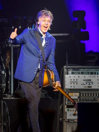 Photos Sir Paul McCartney Makes Triumphant Iowa Return