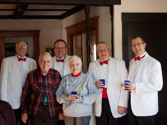 Clipper City Chordsmen will offer singing valentines that include a Valentine serenade, long-stemmed red rose, digital photo of the event and personalized Valentine card.
