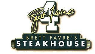 Brett Favre Steakhouse logo