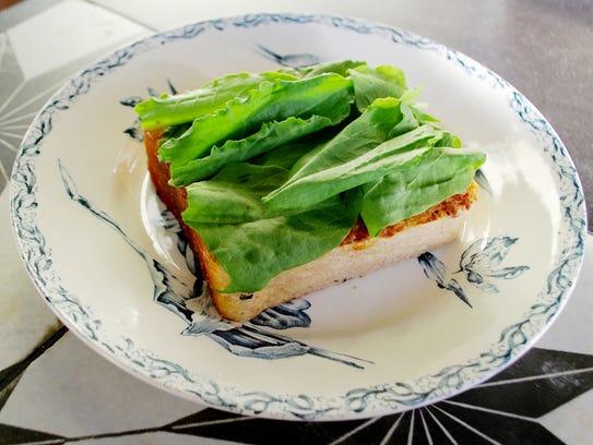 Peninsula: Tomato Toast with Springer Mountain Farms