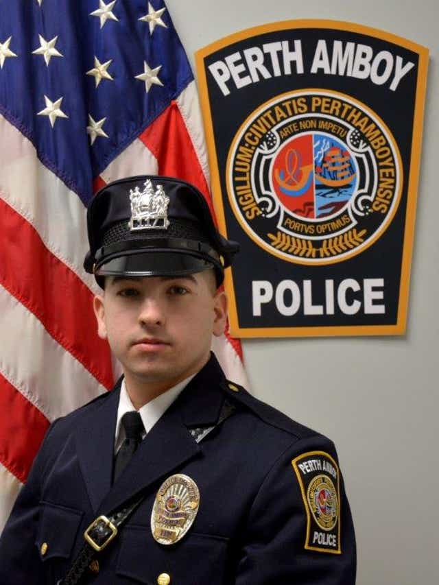 Perth Amboy Police Officer Kyle Savoia saves man's life on