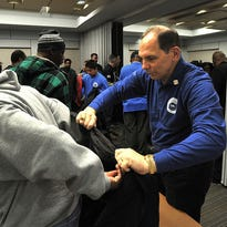 VA Secretary Bob McDonald speaks to about 600 community organizers at the annual National Coalition for Homeless Veterans conference in Washington, D.C., on Wednesday.