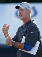 Indianapolis Colts head coach Frank Reich during the