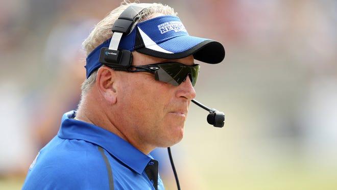 FILE -- Jeff Quinn, when he was head coach at Buffalo.