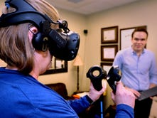 Virtual Reality Games used in drug rehab therapy