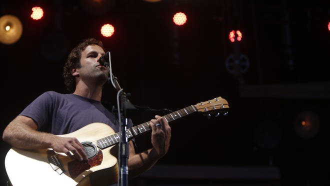 Jack Johnson puts a finishing touch on the festival Sunday from the Firefly Stage.