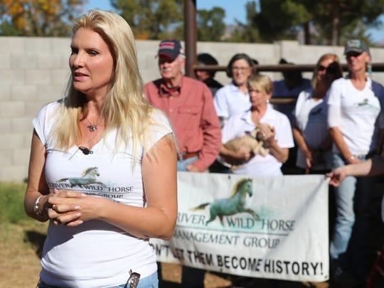 Simone Netherlands, president of the Salt River Wild