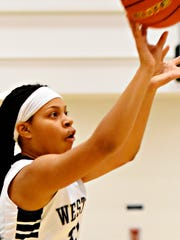 Alayna Harris and her West York teammates will compete in the Lady Bulldog Showcase on Saturday. The Bulldogs will play Red Land at 8 p.m. DISPATCH FILE PHOTO