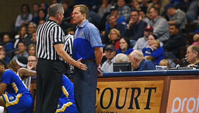 SDSU coach TJ Otzelberger will have seven newcomers on next year's roster.