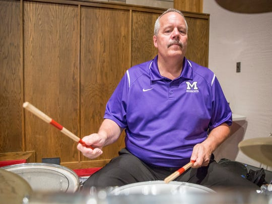 Tom Lyon, Central's athletic director, has been the percussion piece for a string of bands, a keyboard and drums duo and jazz fusion trio in addition to joining the Southside Pep Band on occasion. His current venture is the Sonny Yingst Band, who have played at The Valhalla.