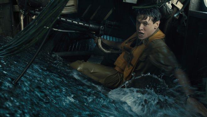 Jack O'Connell stars as Olympian and war hero Louis Zamperini in 'Unbroken.'