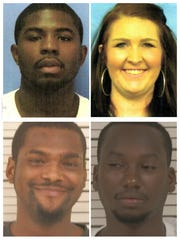 Top: Anthony Dauden and Bridget Dillon Bottom: Jeremy McElvin and Exzavion Reed