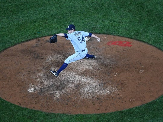 Emilio Pagan is among the Mariners pitchers who have