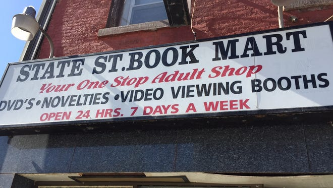 State St. Book Mart, at 109 State St. in Rochester, was the last adult bookstore in downtown Rochester before it closed in February.