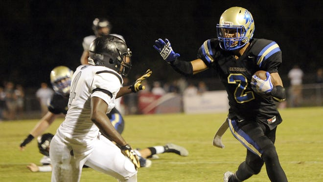 Wilson Central's Colton Dowell (2) has committed to Chattanooga.