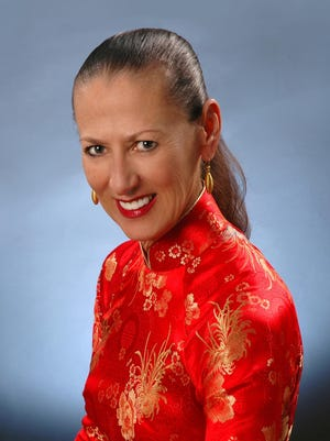 Sally Logan of Palm Springs.