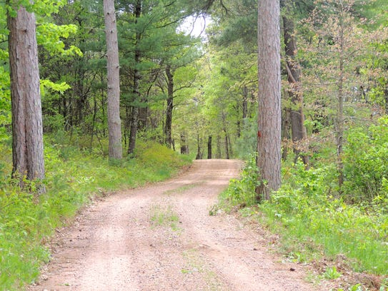 Nearly 15 miles of pristine trails loop through Sandhill