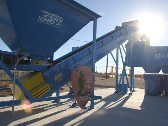A new glass pulverizer provided by Guadalupe Mountains