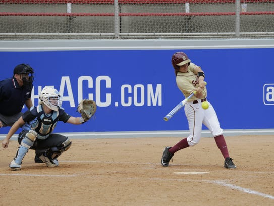 Cali Harrod helped FSU get to the ACC title game as