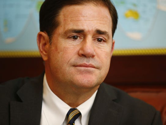 Arizona Gov. Doug Ducey has been friends with lobbyist