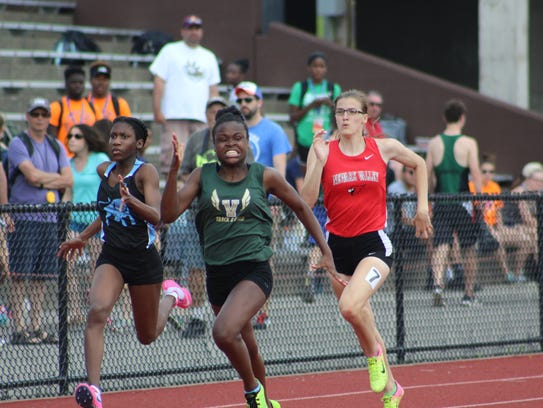 Scenes from Day 2 of the state track and field championships