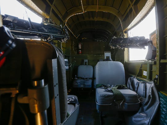 A look inside the B-25 Warbird that flew into the Springfield