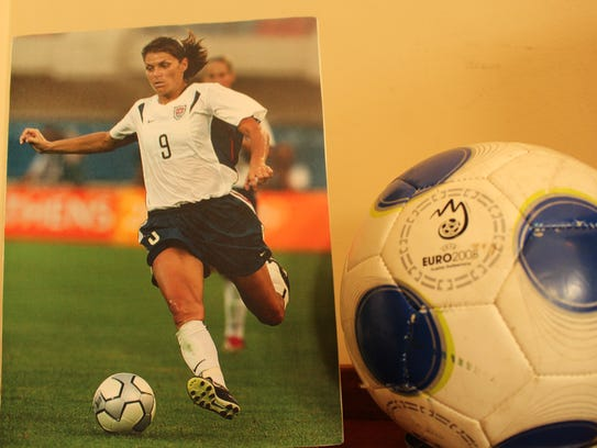 Mia Hamm of Selma developed into one of the world's