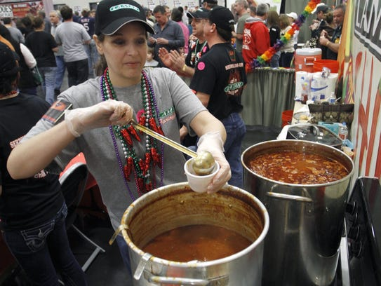 The Sertoma Chili Cook-Off is Saturday at the Expo