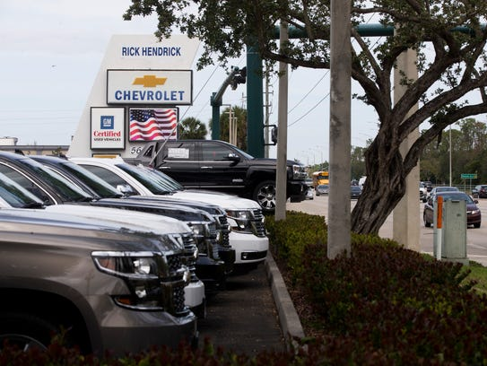Rick Hendrick Chevrolet Naples, seen on Airport-Pulling