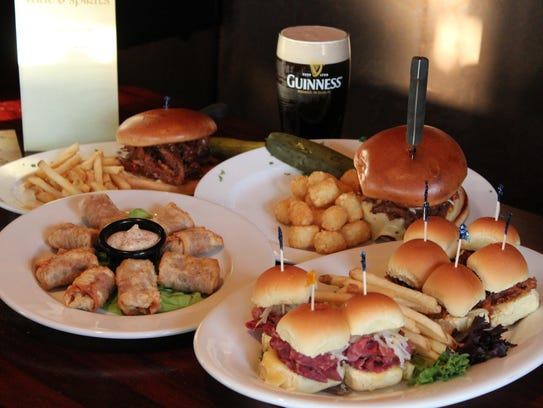 Irish fare from The Shannon Rose Irish Pubs in Clifton