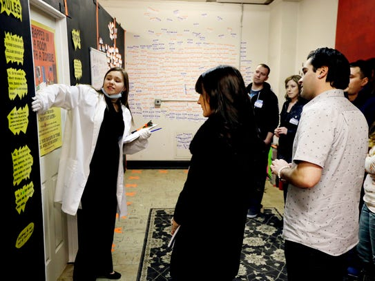 Zombie-themed room escape show opens in Detroit